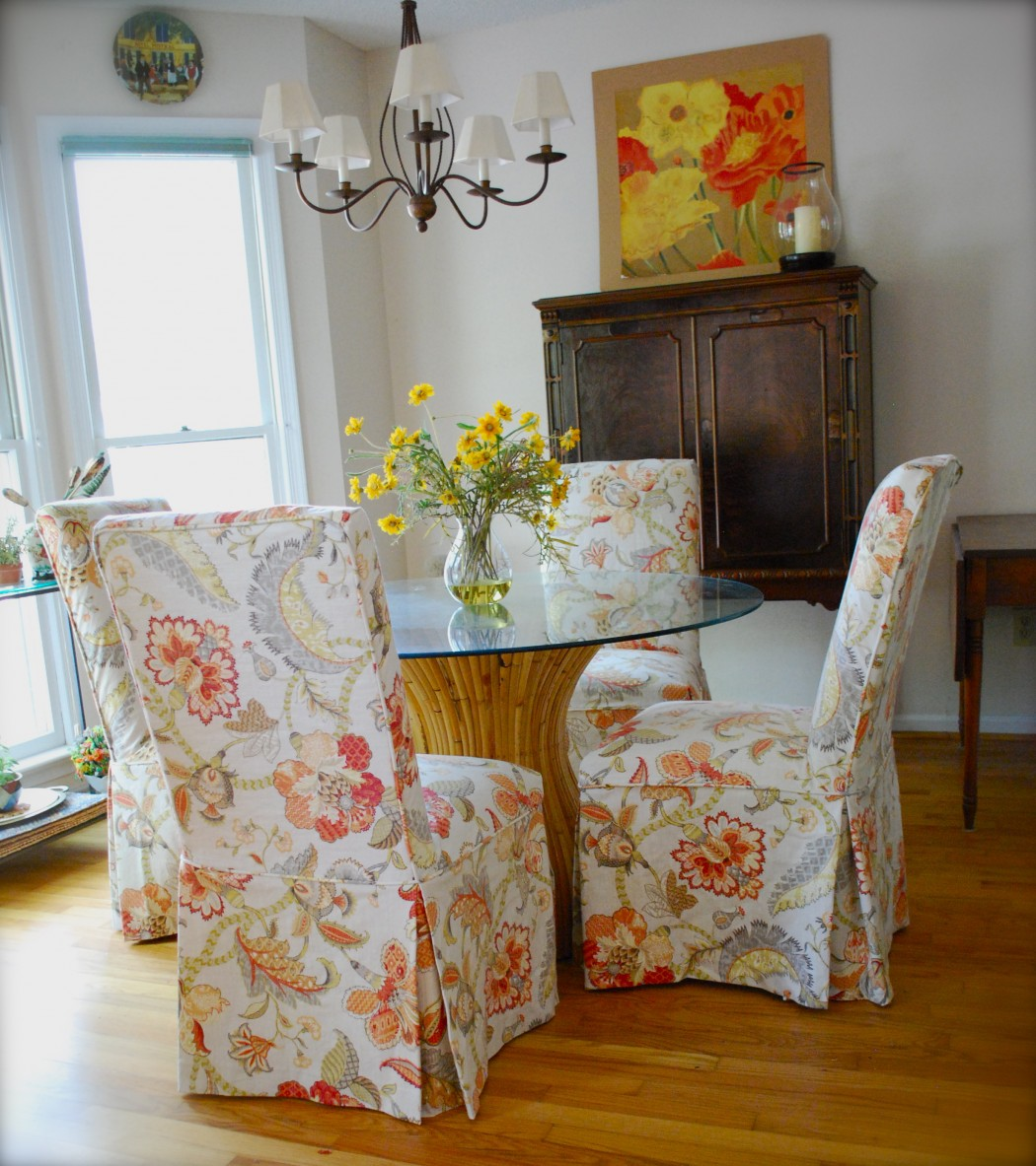 Charmant Parson Chair Slipcovers