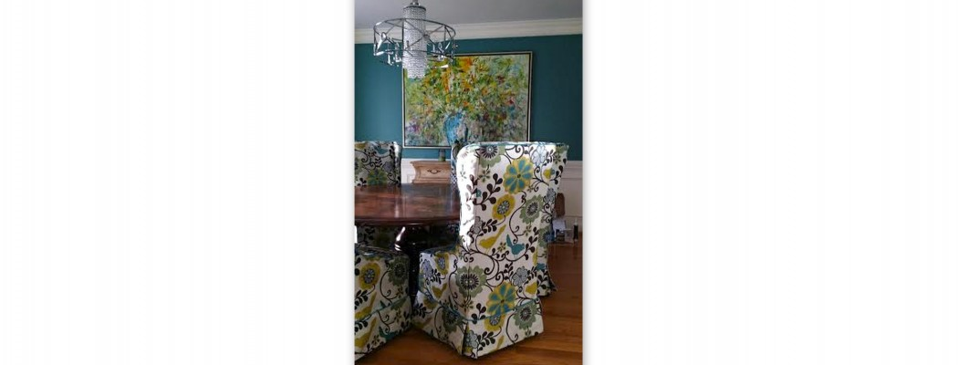 Floral Birdie Dining Chairs